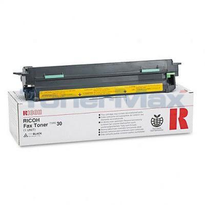 RICOH IFS-66/FAX 2500L TYPE 30 TONER BLACK